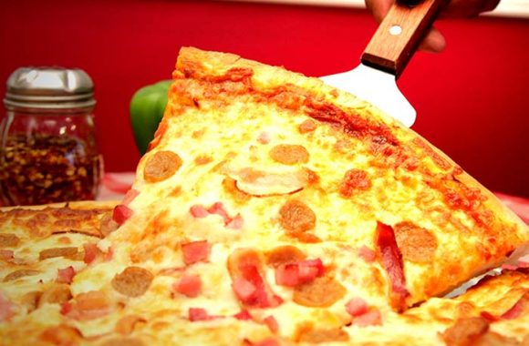 Good, old-fashioned pizza