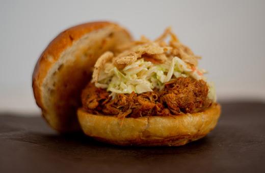 sandwiches pulled pork