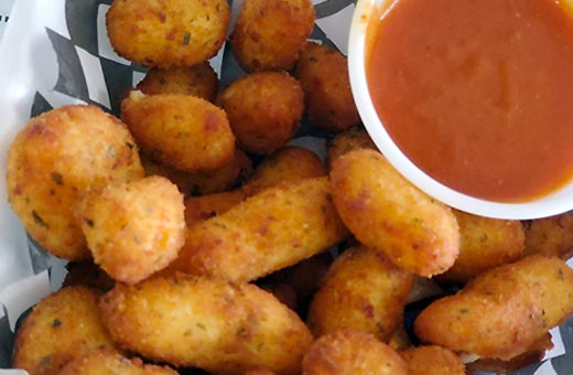 sides snacks deepfried cheese curds
